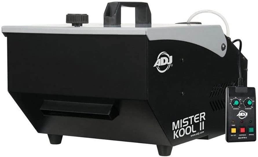 ADJ 48 In Black Light Fixture American DJ Mister Kool II Fog Machine 2 Pack
