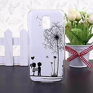 YULIN Samsung Galaxy S5 Mini compatible Special Design Plastic Back Cover