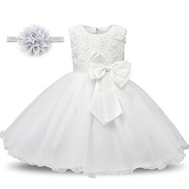 White Holiday Princess Dress