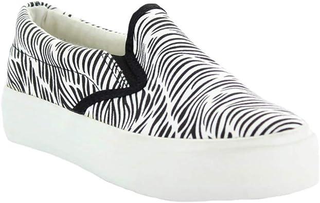 Restricted VEBRA Zebra Print Slip-On