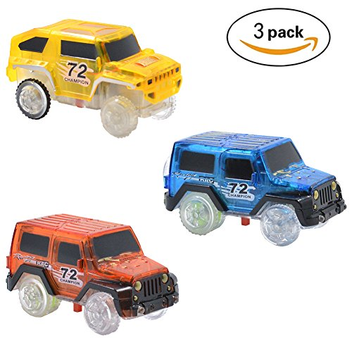 low-cost Magic Tracks Cars Replacement Light Up Toy Car Track