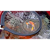 Koi Net with 30 Inch (80cm) Diameter Pan & 96 Inch (2.4m) Handle