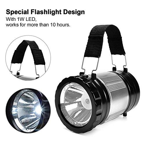 LED Lantern, ODOLAND 2-In-1 300 ...