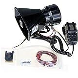 XINGHAO Car siren speaker 12V 80W 7 Tone Sound Car 12V Siren Vehicle Horn With Mic pa horn Speaker System Emergency Sound Amplifier …