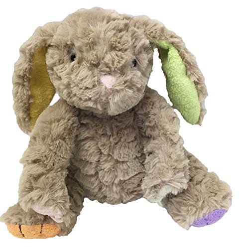 Animal Adventure Tinktoos Soft Plush Bunny Multi-Colored Ears & Feet Tan -