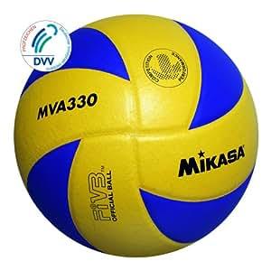 Mikasa MVA 330 - Pelota para voleibol (talla 5), multicolor
