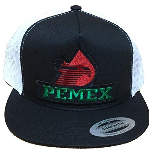 Pemex Hat Black White Mesh Snapback - Buy Online in Oman.  f3aa21cefdc