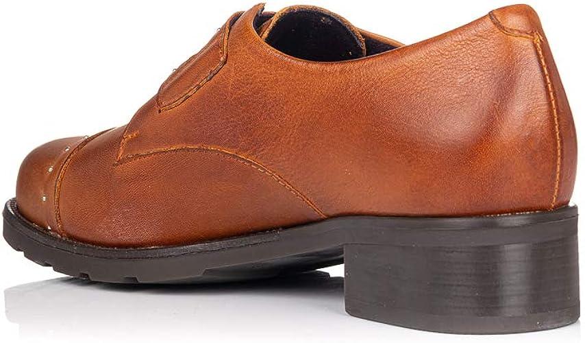 PITILLOS 5841 Zapato Piel con Hebillas Mujer: Amazon.es