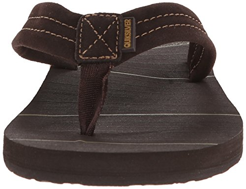 Carver Brown Sandal Quiksilver Art Brown Brown Point Men's 3 Suede f4xg5w