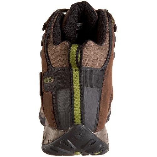 Hi-tec Mens Trail Raider 200 Baule Da Trekking Coibentato Cioccolato Fondente / Dak Taupe / Pisello