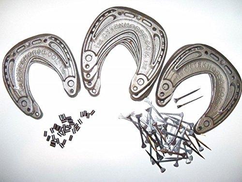 51Ia7zRAJ9L - Cytek Horseshoe Founder, Laminitis & Navicular Soundness Kit for Large Horse w/oDVD, w/Nails