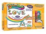 : Rainbow Brush Alphabet Marker Kit As seen on TV