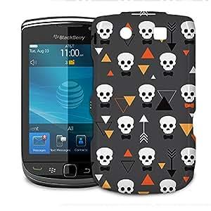 Phone Case For BlackBerry Torch 9800 9810 - Geometric Skulls Lightweight Premium wangjiang maoyi