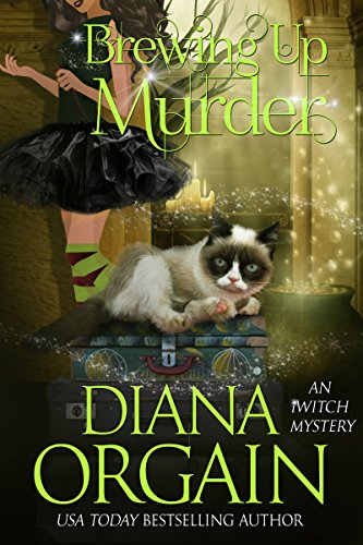 Brewing Up Murder: A Paranormal Cozy Mystery (An iWitch Mystery Book 3)