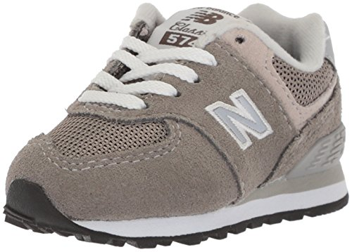 Price comparison product image New Balance Boys' 574v1 Essentials Sneaker,  Grey / Grey,  4 M US Toddler