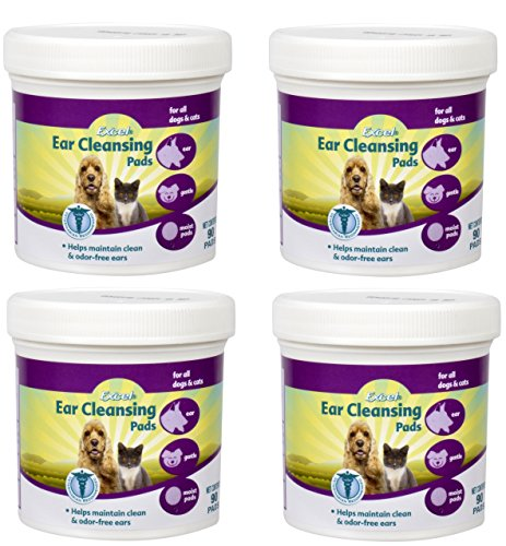 Cleansing Pads Ear (Ear Clear Ear Cleansing Pads For Cats & Dogs)