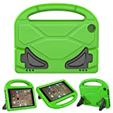 PC Hardware : Kid-Proof Case for F i r e H D 8 2016/2017 Tablet - Roasan Lighteight Shockproof Handle Friendly Stand Kids Case for All-New F i r e H D 8 Display (6th / 7th Generation Release, Green)