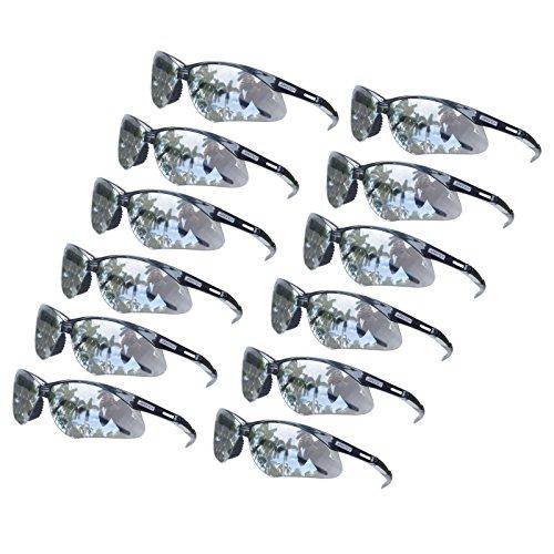 (JORESTECH Eyewear - UV protection Safety Protective Glasses Case of 12 Mirror ANSI Z87+)