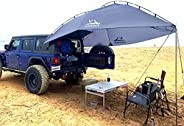 Versatility Teardrop Awning for SUV RVing, Car Camping, Trailer and Overlanding Light Weight Truck Canopy Dura