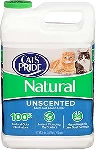 Amazon Com Cat S Pride Natural Scoopable Cat Litter Jug