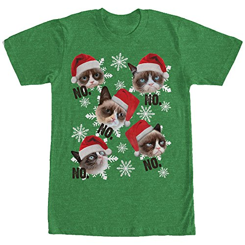 Grumpy Cat Ugly Christmas T-Shirt
