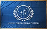 united federation planets - Star Trek Flag | United Federation Of Planets | 3 x 5 ft / 90 x 150 cm | Large Long Lasting Flag