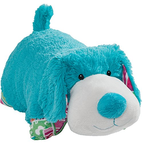 Pillow Pets Colorful Teal Puppy product image