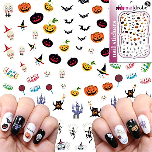 (Naildrobe Premium Peel-N-Stick Halloween Monsters Nail)