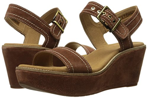 afaee35f3ce4 Clarks Women s Aisley Orchid Wedge Sandal  Buy Online at Low Prices in  India - Amazon.in