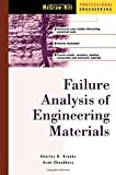 img - for Failure Analysis of Engineering Materials by Brooks, Charles, Choudhury, Ashok, Brooks, Charlie R.(December 15, 2001) Hardcover book / textbook / text book
