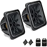 Kicker 44L7S154 Solobaric L7 15 Subwoofers Bundle - Dual 4-Ohm Voice Coils for wiring to a 1-ohm monoblock amplifier