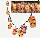 Fun Express Tiki Head Light String Set Luau Party Patio Lights - 1 Piece