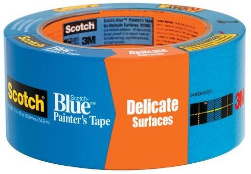 3M 2080EL-48E 2'' ScotchBluePainters Masking Tape Delicate Surface