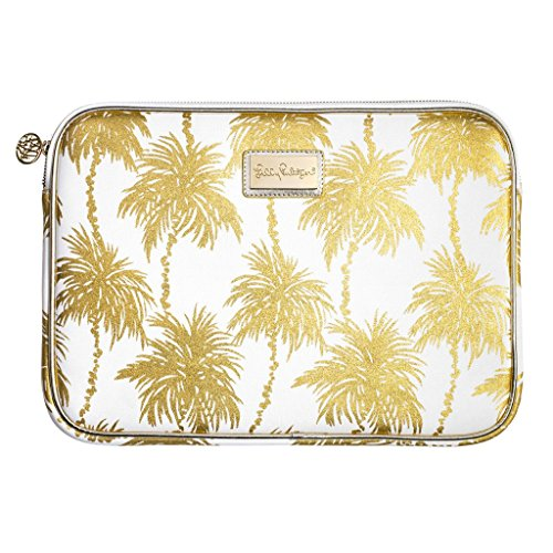 - Lilly Pulitzer Tech Sleeve Fits up to 13 inch Laptop (Metallic Palms)