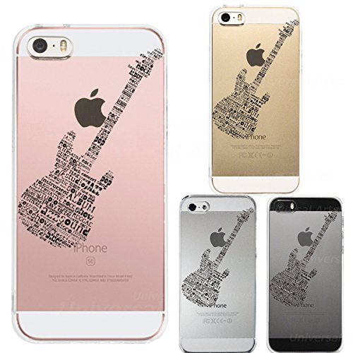 Iphone Se Iphone5s /5 Shell Case Anti-Scratch Clear Back for Iphone Se Iphone 5s /5 Electric Guitar - In Usa Vans Fake Made