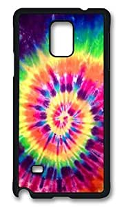 Green Spiral Tie Dye Rugged Protector Diy For HTC One M7 Case Cover Polycarbonate Plastics Hard Black
