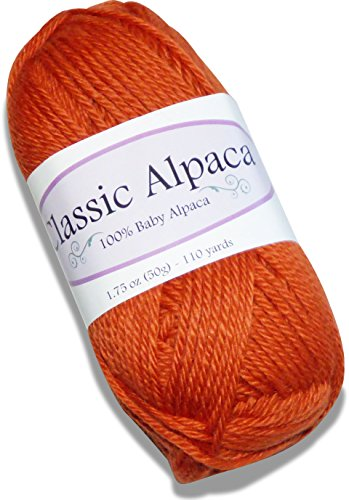 Classic Alpaca 100% Baby Alpaca Yarn #2201 Sweet Potato for sale  Delivered anywhere in USA
