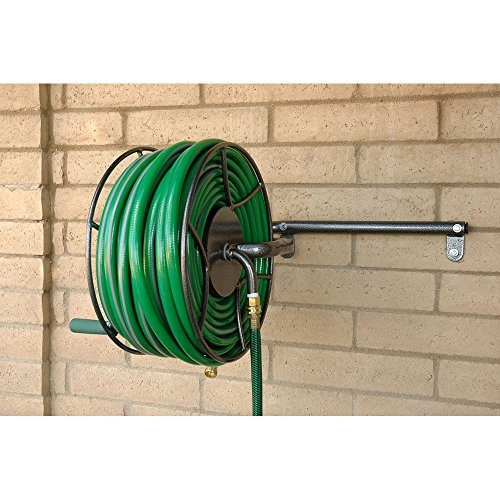 yard butler hose reel yard butler srwm 180 wall mounted hose reel import it all 1682