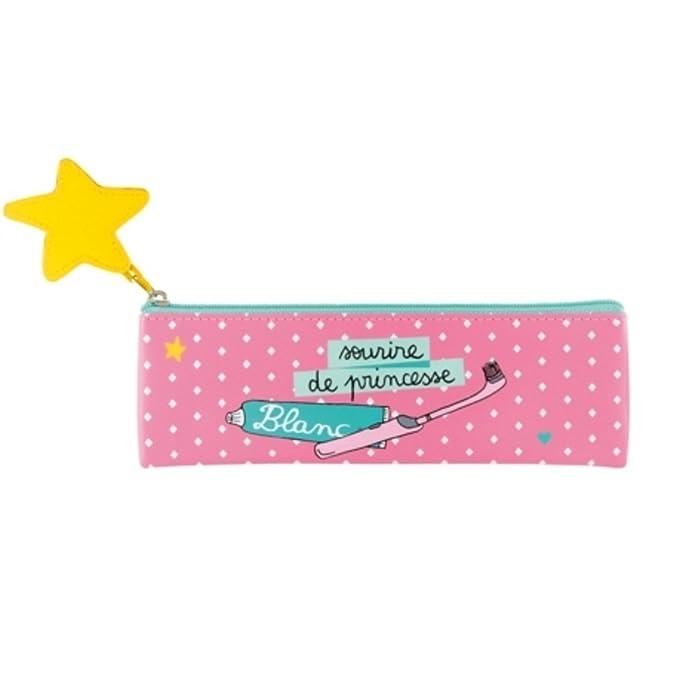 Derrière la porte - Estuche para cepillo de dientes Ray princesa rombo -: Amazon.es: Hogar