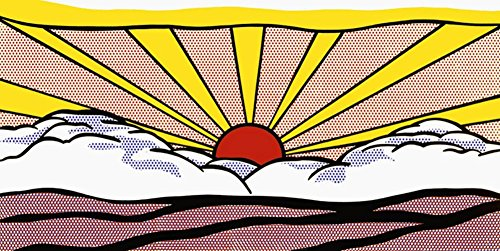 Sunrise, c.1965 Art Print Art Poster Print by Roy Lichtenstein, 40x20
