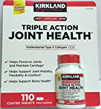 Kirkland Triple Action Joint Health Type II Collagen, Boron and HA – 110 Count For Sale