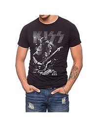 Jack Of All Trades Kiss Gene Bass Photo T-Shirt