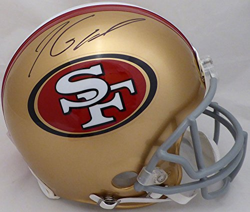 Jimmy Garoppolo Autographed San Francisco 49ers Full Size Authentic Proline Helmet Tri-Star & Beckett BAS