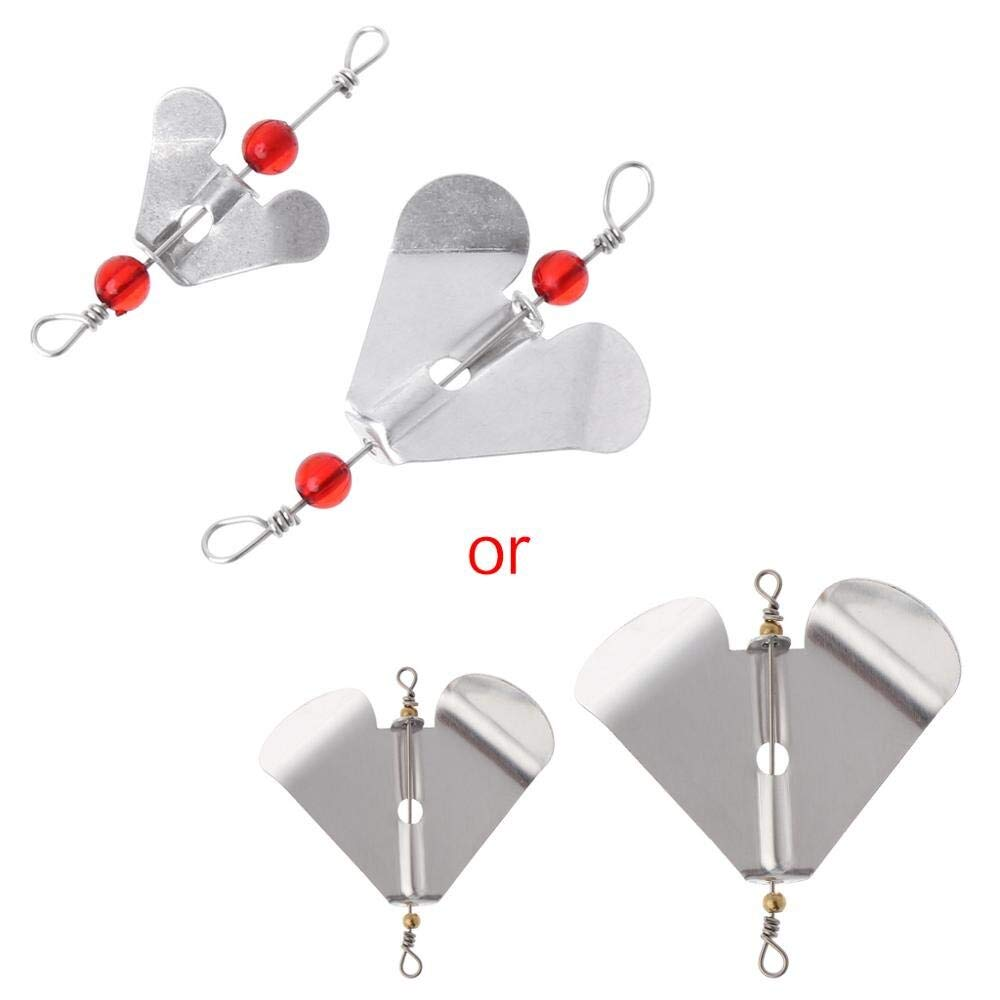 HAOMAO 1PCS Hing Sequin Rotating Spinner Hard Metal Baits Spoons Wobbler Tackle