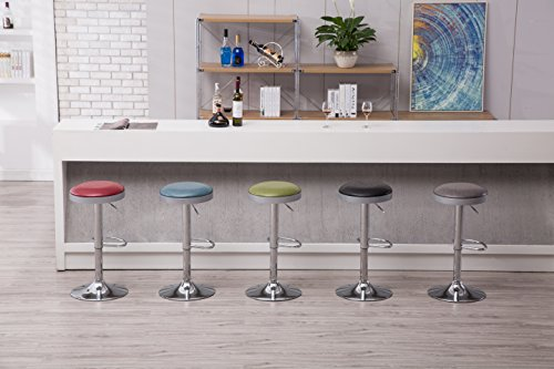 Boraam  Copley Backless Stool, 1-Pack, Adjustable Height, Black by Boraam (Image #11)