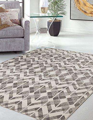 Amazon.com: abacasa Sonoma Leyton alfombra de área, Inc 3 ...