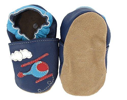 HOBEATractor - Zapatos de Bebé para bebés, unisex Hubschrauber Hubi