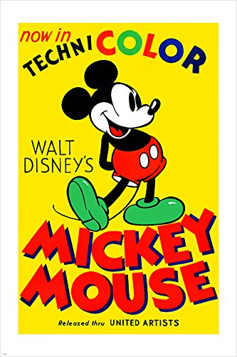 classic mickey mouse poster - 7