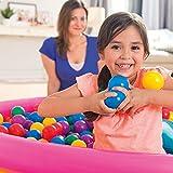 BEE 200 Pcs 5.5cm Diameter Multicolor ocean ball Baby Kids Child Pit Balls Tent Swim Pit Toys Game Gift (200pcs)