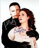 #5: Gerald Butler & Emmy Rossum in the Phantom of the Opera Signed Autographed 8 X 10 Reprint Photo - Mint Condition